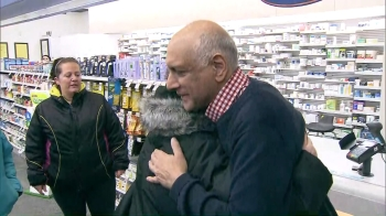 Emotional reunion as family thanks pharmacist Anil Virani who saved relative's life | CityNews