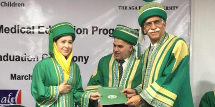 Aga Khan University: FMIC graduates 14 specialist doctors, set to serve Afghanistan