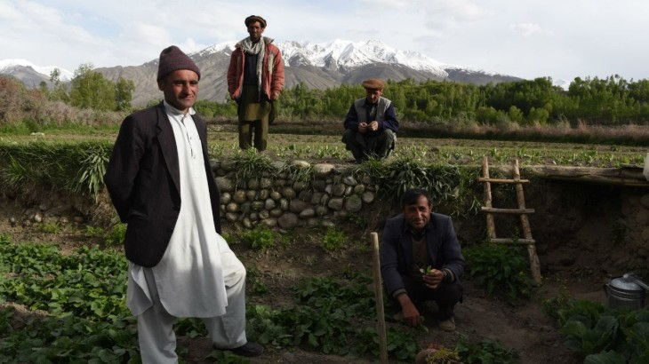The famous farmers of Ishkashim