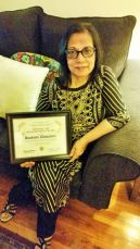 Roshan Ghaziani: 'Fighting Stereotypes: Winner of Mary I. Hill Award, Illinois Department on Aging'