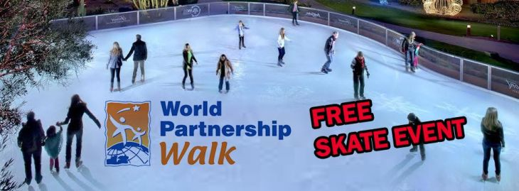Andrea's Five Fun Things To Do This Weekend: FREE Ice Skating - World Partnership Walk | CBC