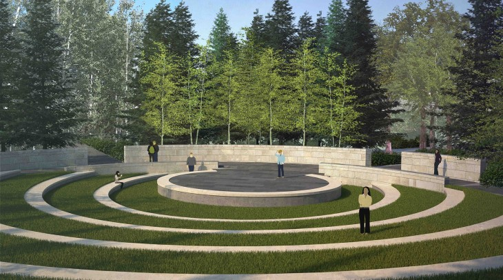 Performance Space: Aga Khan Garden at the University of Alberta Botanic Garden