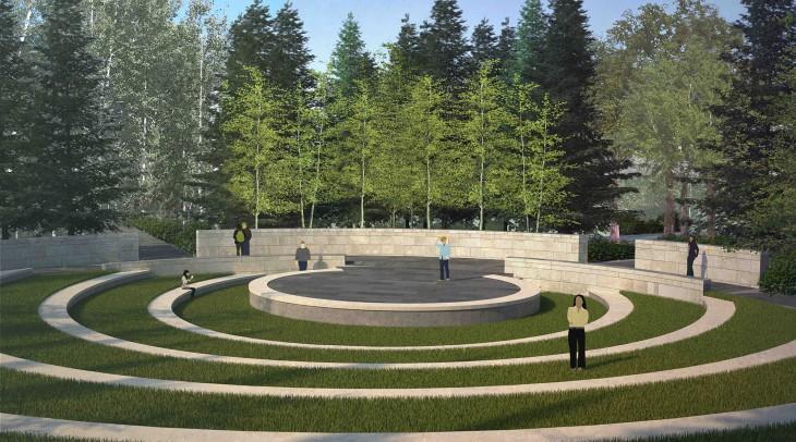 Performance Space:Aga Khan Garden at the University of Alberta Botanic Garden