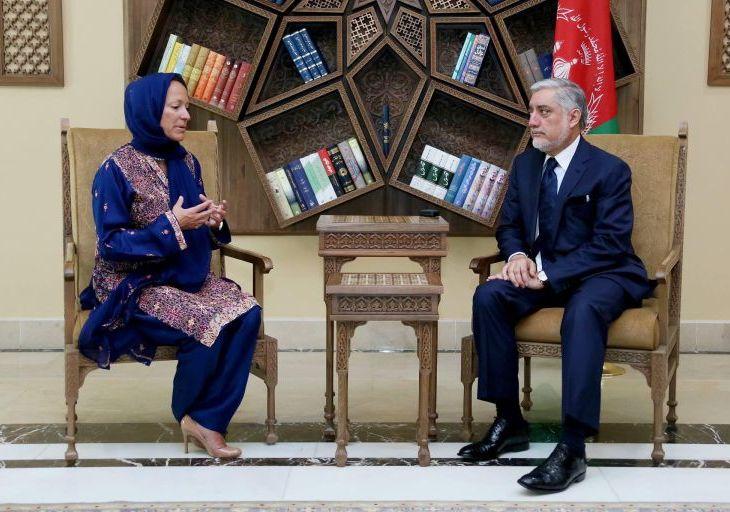 Princess Zahra Aga Khan & AKDN Delegation Meets Chief Executive of Afghanistan, Dr. Abdullah Abdullah