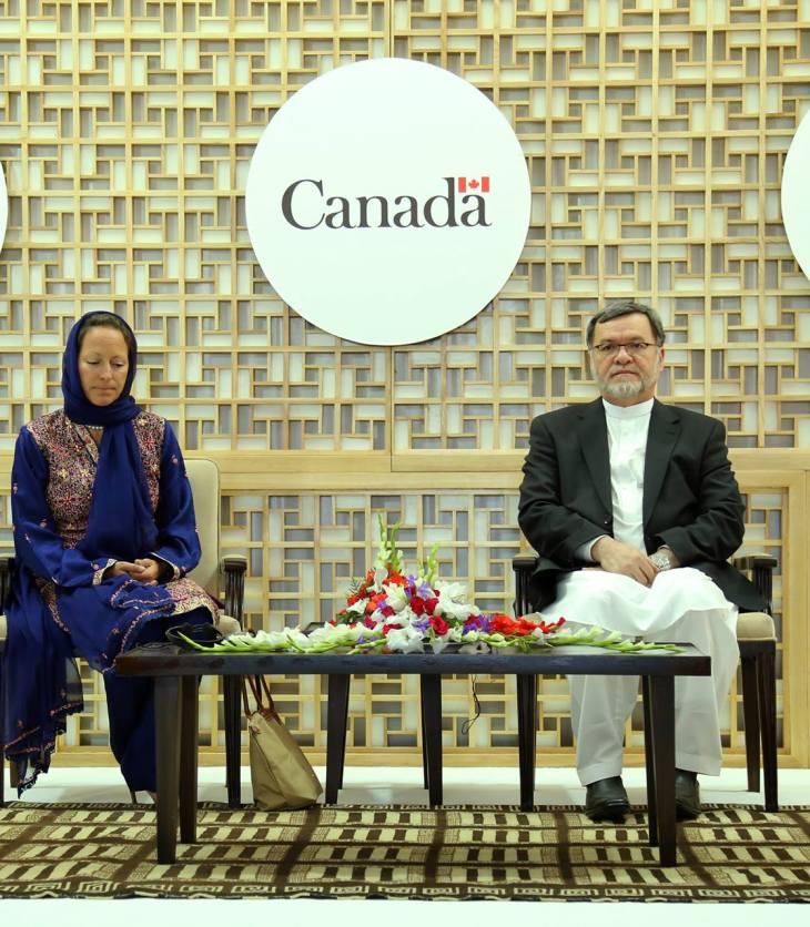 Social Media: Inauguration of the Bamyan Provincial Hospital with Princess Zahra Aga Khan