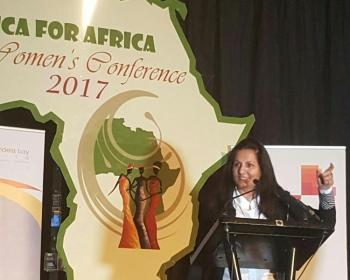 Speech by Almas Jiwani on 'The Power of One' at Africa 4 Africa Women's Conference in South Africa