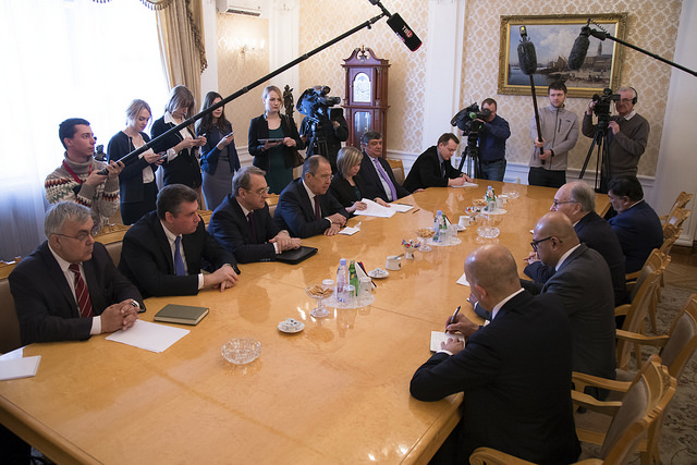 Photos: His Highness Prince Karim Aga Khan IV with Russian Minister of Foreign Affairs Sergey Lavrov