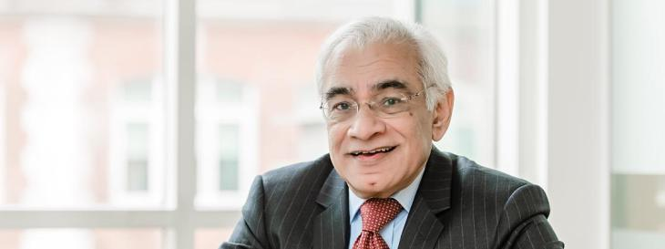 Abdul Fazal Bhanji receives Order of the British Empire honours for services to education and young people
