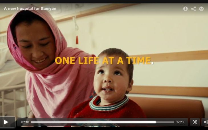 Video: A New Hospital In Bamyan Afghanistan