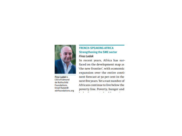 Firoz Ladak on the next decade of impact investing