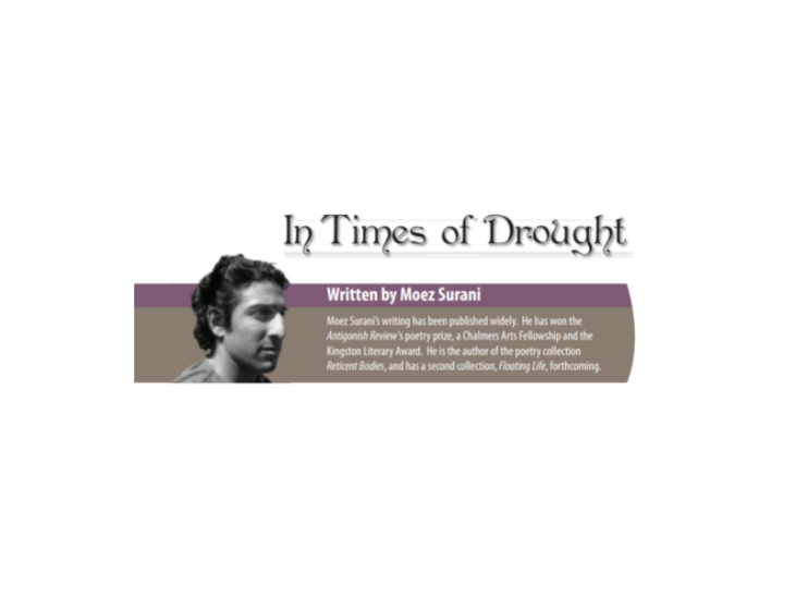 'In times of drought', by Moez Surani