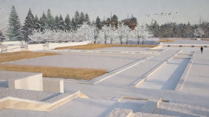Design: Aga Khan Garden at the University of Alberta Botanic Garden
