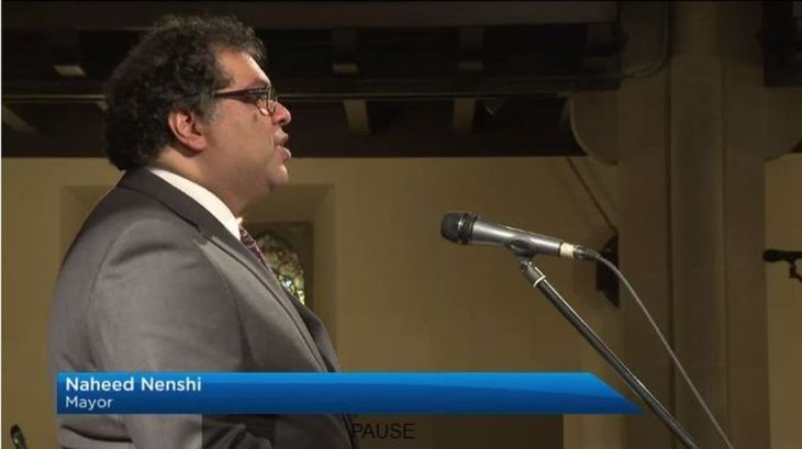 Calgary Mayor Naheed Nenshi's Easter Sunday Sermon (Audio)