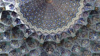 Islamic Art: BBC: The 10 most beautiful ceilings in the world - Shah Mosque, Isfahan