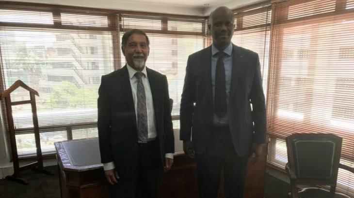 EAC Secretary General meets Aga Khan Representative Dr. Azim Lakhani in Nairobi