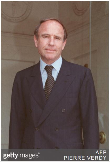 Prince Sadruddin Aga Khan poses for photographers 12 July 1988, as he arrives at the Elysee Palace in Paris, to be received as UN coordinator for Afghanistan. Son of Aga Khan III, Sadruddin worked 12 years as UN High Commissioner for Refugees. Graduated from Harvard, he was named in 1988 coordinator of United Nations Organization (ONU) for the rebuilding of Afghanistan, and, in 1990, as personal representative of General Secretary of ONU, Javier Perez de Cuellar, for the humanitarian assistance during the Gulf War. Aga Khan is also the Bellerive Foundation president founded in 1977 to study scientific, technological and peace issues. (Image credit PIERRE VERDY/AFP/Getty Images)