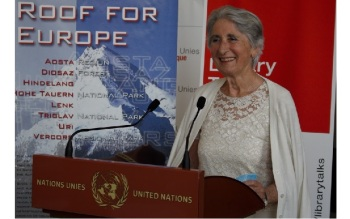 Diana Miserez, author of Prince Sadruddin Aga Khan: Humanitarian and Visionary (Image credit: Anvar Nanji)