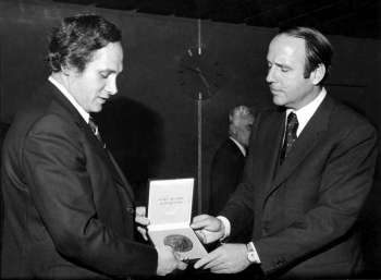 Prince Sadruddin Aga Khan - Constellation of Honours (image credit: UNHCR)