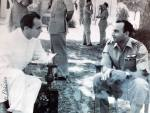 Historical Photograph: Prince Karim Aga Khan in early 1950s (Pakistan)
