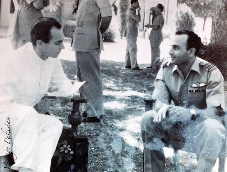 Historical Photograph: Prince Karim Aga Khan in early 1950s (Pakistan)