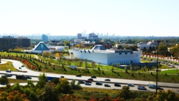 Best Islamic tourist attractions around the world: Aga Khan Park Toronto, Canada