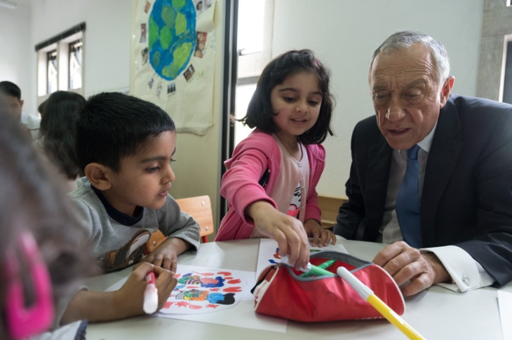President of the Portuguese Republic, Marcelo Rebelo de Sousa visits the Ismaili Centre Lisbon