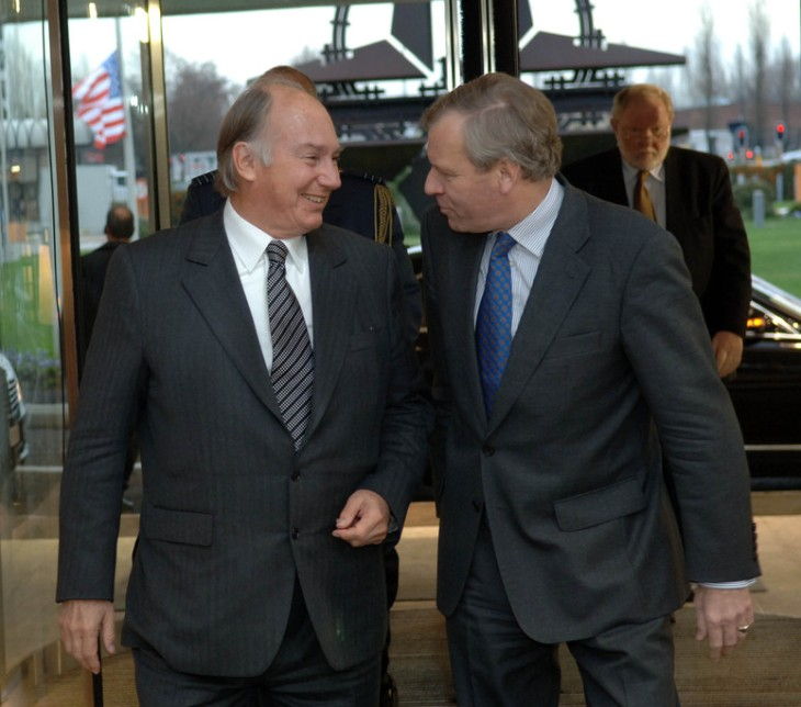 NATO - News: Visit to NATO by the Aga Khan, 22-Jan.-2007