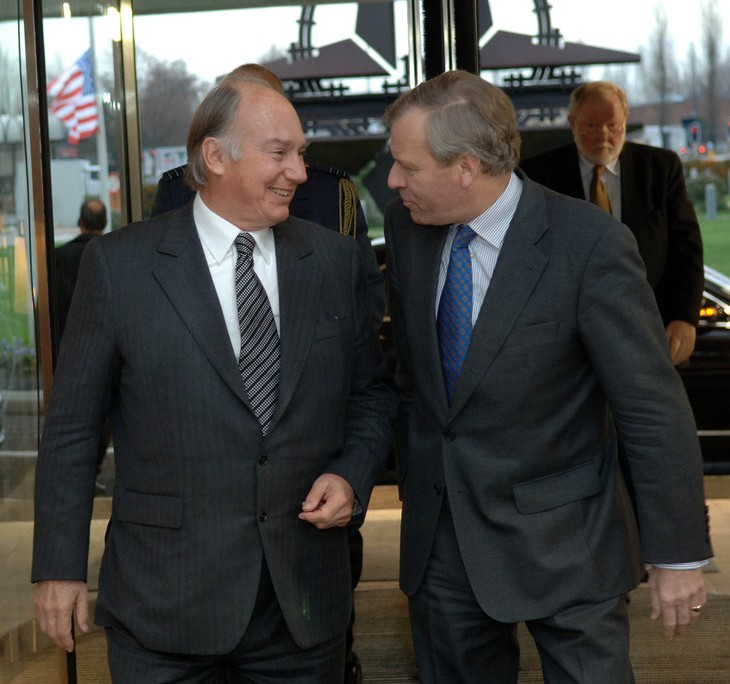 NATO - News: Visit to NATO by the Aga Khan, 22-Jan.-2007