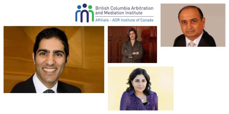 Azool Jaffer Jeraj, Shelina Neallani, Zara Suleman, and Karim Sunderji to present at the BC Arbitration and Mediation Symposium