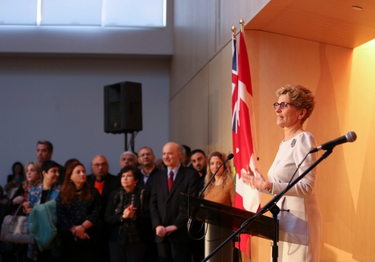 Premier Kathleen Wynne celebrated Nowruz at the Ismaili Centre in Toronto. | Flickr