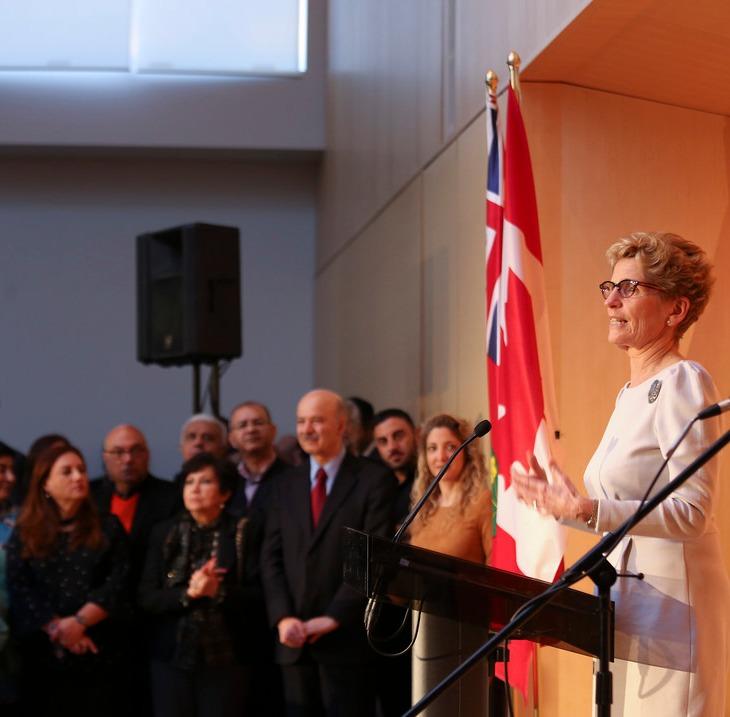 Premier Kathleen Wynne celebrated Nowruz at the Ismaili Centre in Toronto. | Flickr