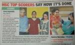 Tania Rajabally attains HSC Top Score (India)