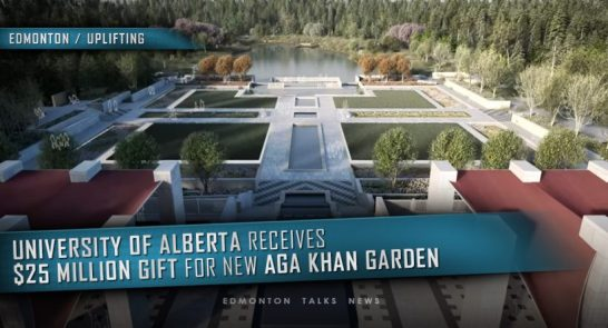 University of Alberta Receives $25-Million Gift for Aga Khan Garden