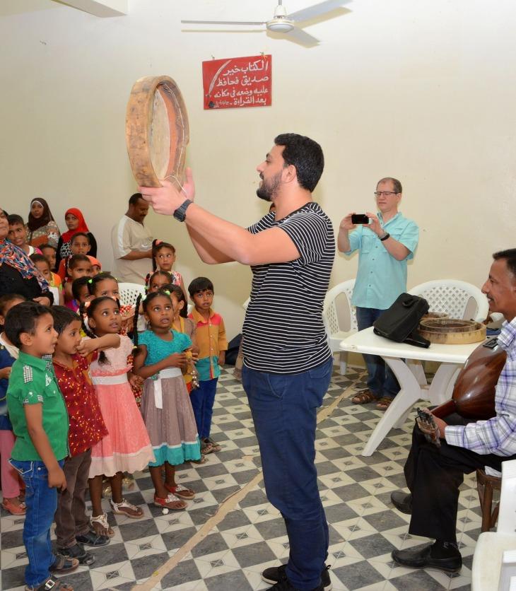 Reviving culture and arts in Aswan   Aga Khan Development Network