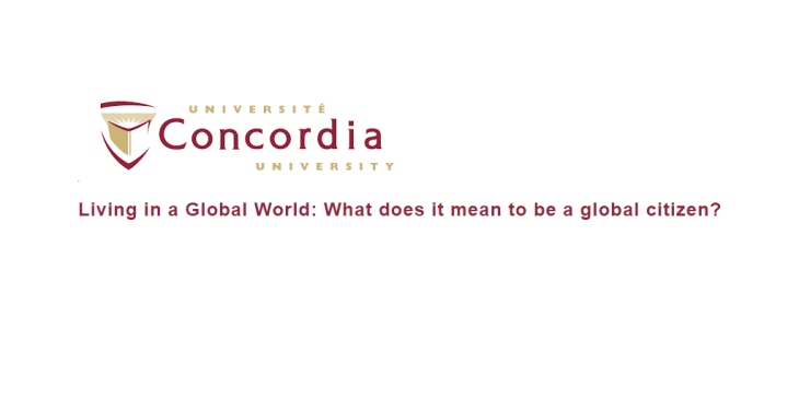 "Shelina Adatia, Asif-Aly Penwala present on ""Living in a Global World"" at Concordia University, Montreal"