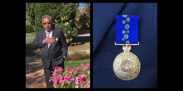 A retired Ismaili physician, Dr. Mirza Datoo has been presented with the Order of Australia.