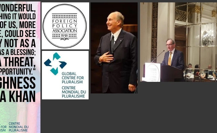Foreign Policy Association honors His Highness Prince Karim Aga Khan with FPA Medal