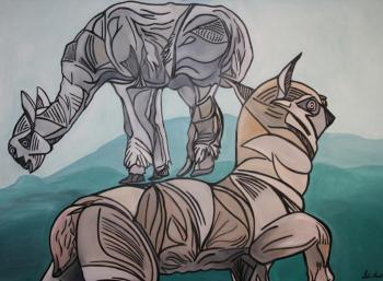 Tahira Karim's Solo Art Exhibition in Calgary