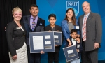 Ashif Mawji and family: $1-million donation the largest ever made by a NAIT alumnus