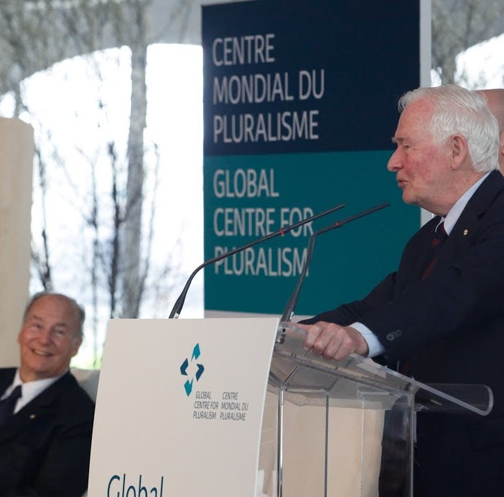 (Video) Address by His Excellency the Right Honourable David Johnston at the Official Opening of the Global Centre for Pluralism