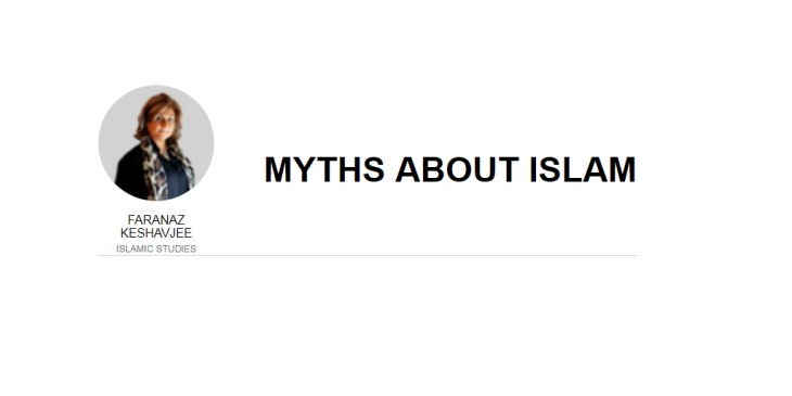 Faranaz Keshavjee: Myths about Islam