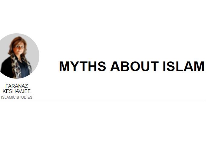 Faranaz Keshavjee: Myths about Islam