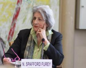 Nicola Spafford Furey, Vice President of Earth Focus Foundation (image credit: UN Library)