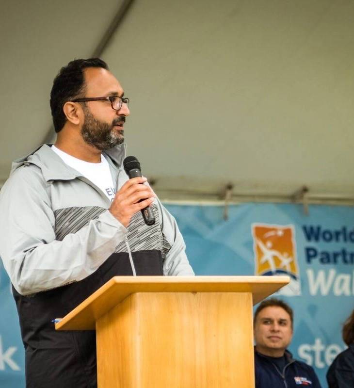 """""""It's an open walk for all to participate in,"""" Zen Tharani, WPW chair for Victoria."""
