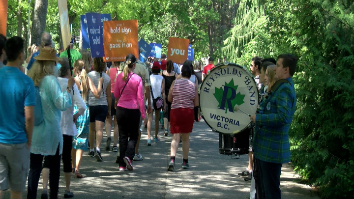 Victoria World Partnership Walk sees more than 1,100 attendees, raised more than $130,000 to fight global poverty  (Video)