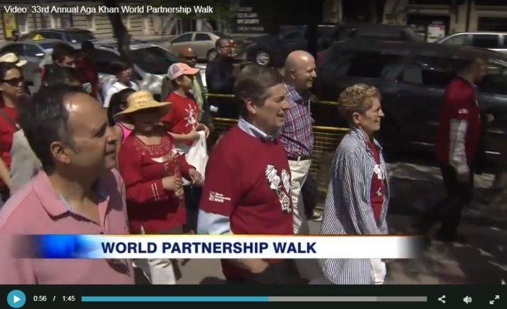 33rd Annual Aga Khan World Partnership Walk (Video)
