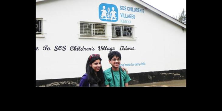 Aman Jina appointed Youth Ambassador for SOS Children's Village BC