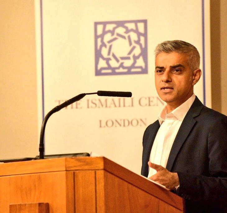 Mayor of London, Sadiq Khan visits Ismaili Centre