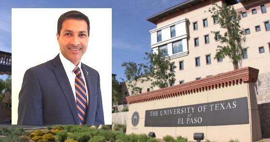 Shafik Dharamsi named Dean of College of Health Sciences, University of Texas at El Paso