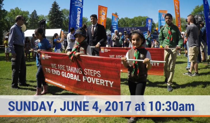 World Partnership Walk Edmonton is this Sunday!